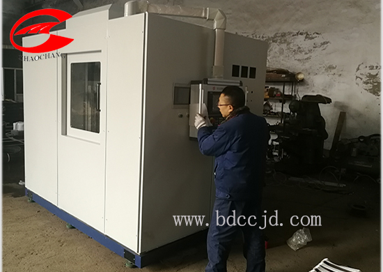 Gear ring induction hardening machine